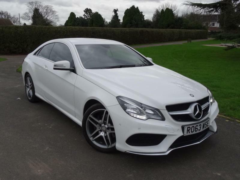 mercedes e class e220 cdi amg sport coupe 2013 63 in ilford london gumtree. Black Bedroom Furniture Sets. Home Design Ideas