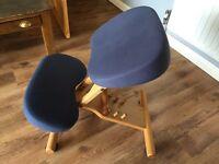 Posture kneeling stool