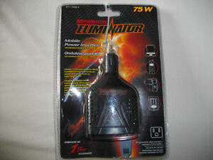 Brand new 75w inverter (converts 12v dc into 120v ac)