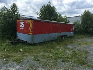 33 Foot Car Trailer for Storage for SALe