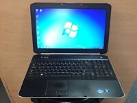 Dell i3 Fast HD Laptop (Kodi) 500GB, 4GB Ram, HDMI, Windows 7, office, Very Good Condition, Bargain!