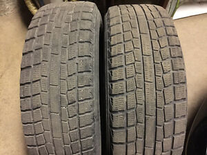 2 Yokohama Ice Guard Winter Tires 195/65/15