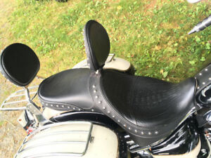 Double Corbin Gel Touring Seat with Backrests for V Star