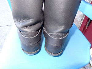 Ladies biker boots in 71/2   recycledgear.ca Kawartha Lakes Peterborough Area image 9