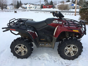 2012 ARTIC CAT 550 XT WITH EPS (PLOW AVAILABLE) WE FINANCE