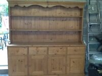 Beautiful solid pine dresser