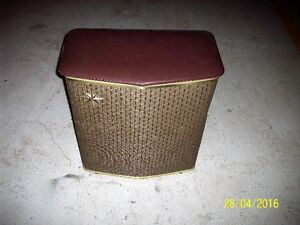 1950,s metal clothes hamper