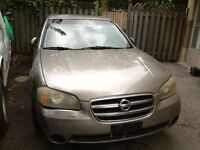 NISSAN MAXIMA.(PARTING OUT