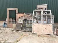Wooden Shed Panels