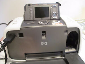 HP Photosmart 420 series GoGo Photo Studio with photo paper