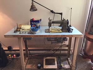 Industrial Sewing Machine - Willcox & Gibbs