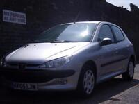 Peugeot 206 1.4 16v Sport 2005(05) 5 Door Hatchback
