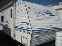 2000 PROWLER 25 FT CAMPER TRAILER FOR SALE.