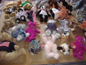 Beanie Babies HUGE Lot (reduced price)