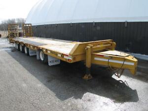 2010 Float King 40 ton tag-a-long float