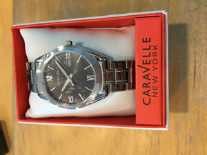 Ladies Carvelle stainless watch