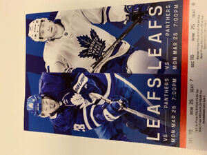 TONIGHTS GAME - LEAFS VS PANTHERS
