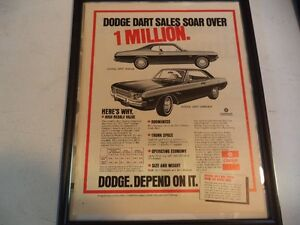 OLD CLASSIC MUSCLE CAR ADS Windsor Region Ontario image 8