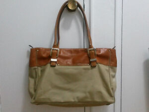 Michael Kors large in canvas and leather