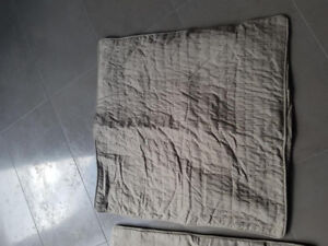"""2 euro shams- new never used 26"""" x 26""""  ( 2 for  $ 15.00)"""