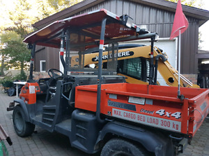 Great 4x4  kubota diesel utility vehicle for sale!