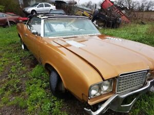 1971 OLDS CONVERTIBLE
