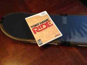 Tony Hawk-Ride-Wii-with board and USB receiver Dongle
