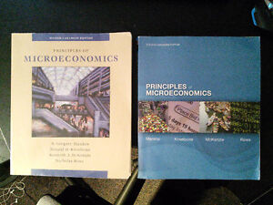Principles of Microeconomics Second and Fourth Editions