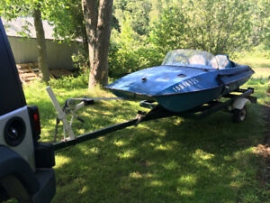 RARE 10 foot mini speed boat, Corbec Tri Cat
