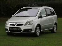 2008 08 VAUXHALL ZAFIRA 1.6 BREEZE PLUS 5D 105 BHP