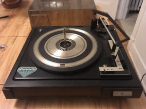 Vintage Sears/BSR Record Player