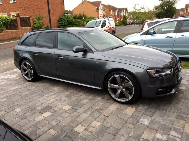 2013 audi a4 avant black edition s line auto in houghton le spring tyne and wear gumtree. Black Bedroom Furniture Sets. Home Design Ideas