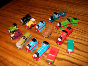 Lot of 19 Thomas The Train & Friends Die Cast Magnetic Trains