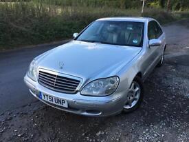 Mercedes-Benz S280 2.8 auto 2001MY S280