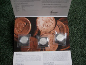 Royal Canadian Mint Silver coins