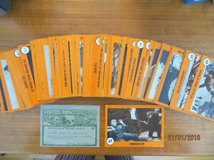 Carte 1961 HORROR MONSTER ORANGE COMPLET