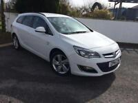 Vauxhall/Opel Astra 1.6i VVT 16v ( 115ps ) Sports Tourers 2014MY SRi