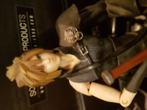 Final Fantasy VII and Kingdom Hearts Action Figures
