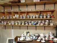 Big Garage Sale Furniture, China, Housewares,Many Tea Cups!