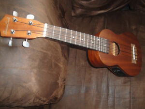 BEAVER CREEK ELECTRIC UKULELE BRAND NEW IN THE BOX +BAG $100