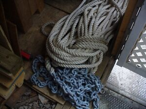 Câble et Chaîne d'ancrage pour bateau ou voilier Saguenay Saguenay-Lac-Saint-Jean image 1
