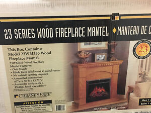Electric Fireplace- BRAND NEW!!