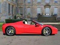 2014 Ferrari 458 Spider 2dr Auto Convertible Petrol Automatic