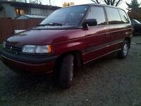 For sale 1993 Mazda MPV  Minivan, Van $1000