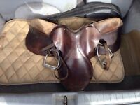 English horse saddle for sale