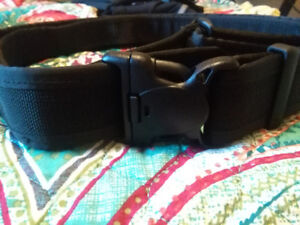 Paramedic Duty Belt and Glove Pouch