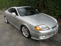 Hyundai Coupe 2.0 SE,3 Door. silver