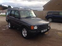 Discovery td5 2001 7 seater