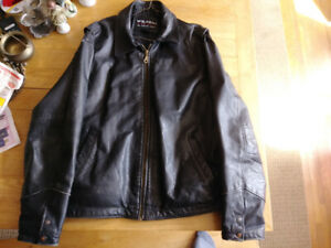 Large Tall Leather Jacket