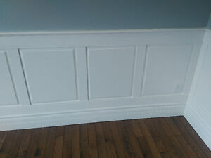 Wainscoting Pre-cut Paint Grade Panels and Trim Pieces